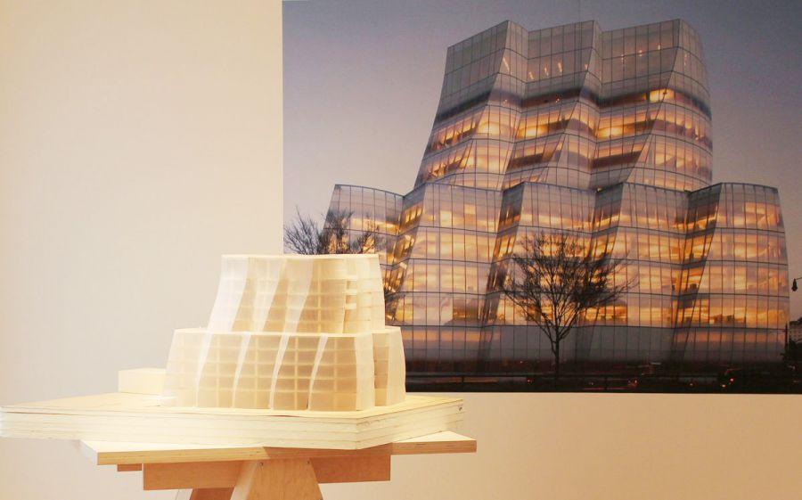 Frank Gehry's design of IAC Headquater, 2007